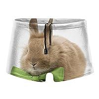 友永TY ウサギ かわいい 競泳下着パンツ メンズ 水着 水泳 スイムウェア スパッツ型 フィットネス 速乾 軽量 パッツ ダイビング サーフィン ビーチ 日常用