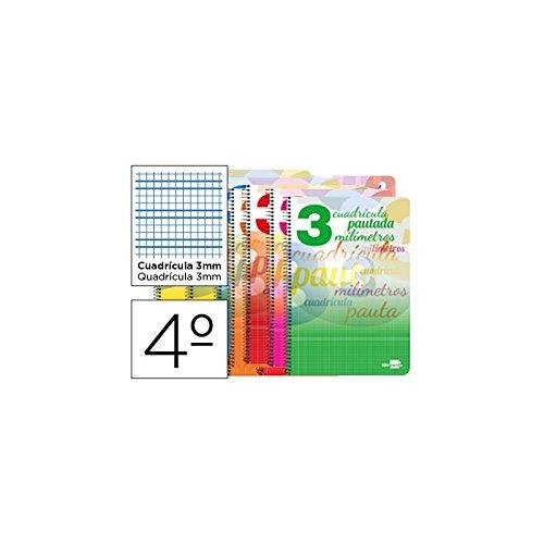 Liderpapel 51704 - Cuaderno espiral