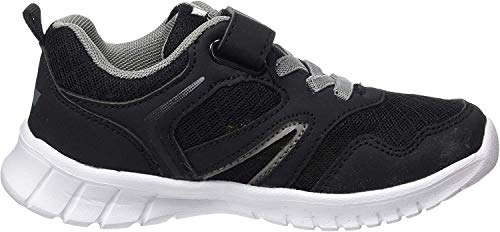 Lico Herren Skip VS Sneaker, Schwarz (Schwarz/Grau Schwarz/Grau), 37 EU