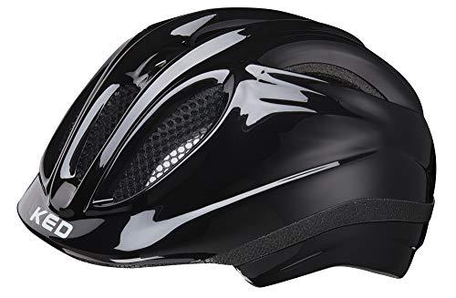 KED Meggy Helmet Kids 2019 Fahrradhelm, black, S   46-51cm