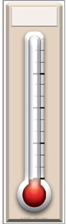 IdealWigsNet Fundraising-Thermometer-Pappaufsteller - 1,82 m B07NJH9C4K  Spaß   Viele Sorten