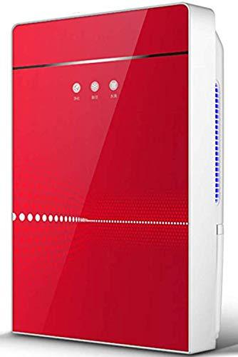 OOFAT Luftentfeuchter DREI-In-One Smart Home Feuchtigkeitsabsorbiervorrichtung ABS Intelligent Moisture Control, Entformung, Trockenbau Sichere Anzeige, Rot