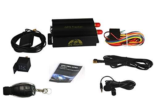 GPS Tracker TK103B Vehículo Vehículo GPS SMS GPRS Tracker Sistema de Dispositivo de Seguimiento en Tiempo Real