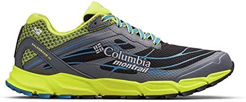 Columbia Caldorado III Outdry, Zapatillas de Running para Asfalto para Hombre, Negro (Black, Zour 010), 42 EU