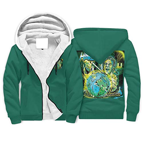 XHJQ88 Heren Ritssluiting met gevoerde Sweatshirts Student Octopus Schedel Gedessineerd Gepersonaliseerd - City Cats Kleding met Pocket Sport Blouse