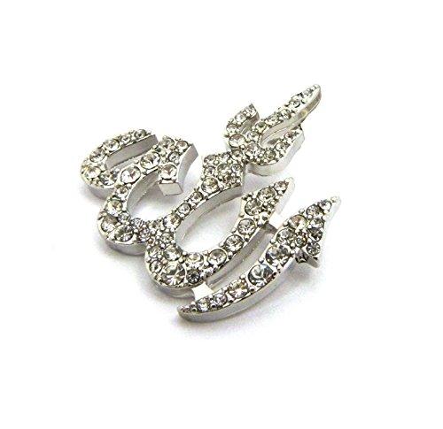 Shiny Jewelers USA Mens Muslim Islam Moon 7 Star...