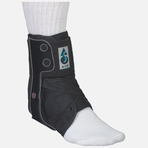 Med Spec ASO Ankle Stabilizer Orthosis Flex Hinge Black X Small by MedSpec product image