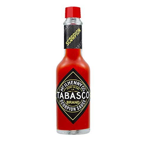 Tabasco Scorpion Pepper Sauce, 1x 148ml, scharfe Chili Sauce, 100% natürlich, Glasflasche