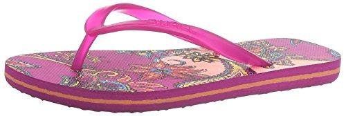 O'NEILL Mädchen Moya Flip Flop Dusch- & Badeschuhe Pink - Rose (3930 Red AOP W/) 38 EU