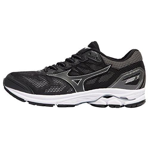 Mizuno Wave Rider 21 Women's Running Shoes - 4 Black
