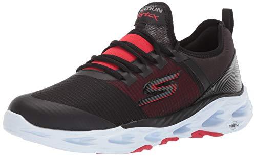 Skechers Scarpe Uomo Running Go Run Vortex Storm Nero/Bianco, 44