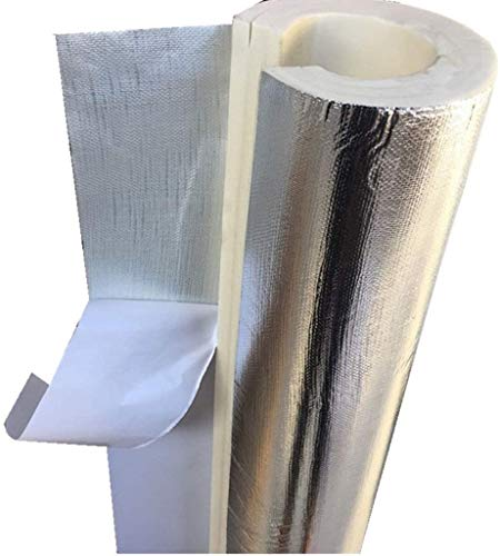 TZSMWG Ducto de Aislamiento térmico de Espuma, 3pcs Alta Temperatura Resistencia Empresa de Trabajo Tubo de Aislamiento de la Cubierta...