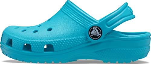 Crocs Classic Clog K, Zuecos Unisex Niños, Digital Aqua, 24/25 EU