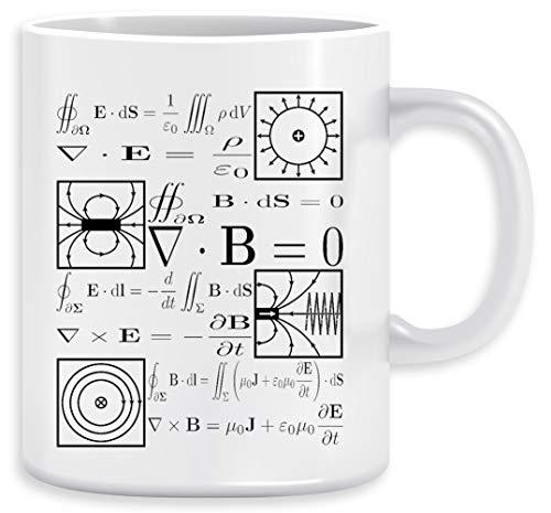 Maxwells Die Gleichungen Kaffeebecher Becher Tassen Ceramic Mug Cup
