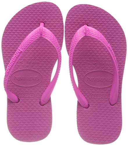 Havaianas Slim 4000030 Infradito Donna, Rosa (Hollywood Rose 0064), 35/36 EU
