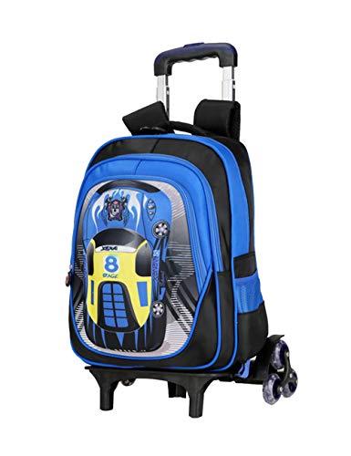 Rugzak voor Kinderen Trolleytas voor Kinderen Schooltassen met Wielen Waterbestendig Handbagage Grote Capaciteit Student Rugzak voor Jongens School Reizen Buitenshuis