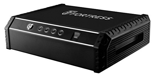 Fortress Quick Access Personal Pistol Safe with Biometric Lock