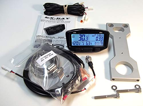 EXRAY Speedometer Kit - For Yamaha Golf Carts - CNC Mount
