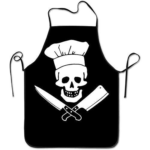 Not Applicable Kochen Schädel Hut Grill Master Küche Kochschürze Schürze