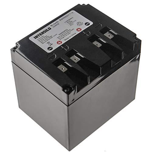 INTENSILO Batería Recargable reemplaza Zucchetti 110Z03700A, Typ B para cortacésped, Robot cortacésped (10500 mAh, 25,2 V, Li-Ion)