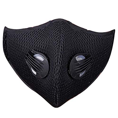 Geactiveerd masker Winddicht fietsmasker Anti-stof fiets Half gezichtsmasker Wintermasker Buitensportmasker