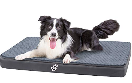 FAREYY Orthopedic Dog Bed for Medium Large Dogs Up to 50/80/110 lbs, Washable Pet Bed Mattress with Lining, Egg Crate Foam Dog Bed1