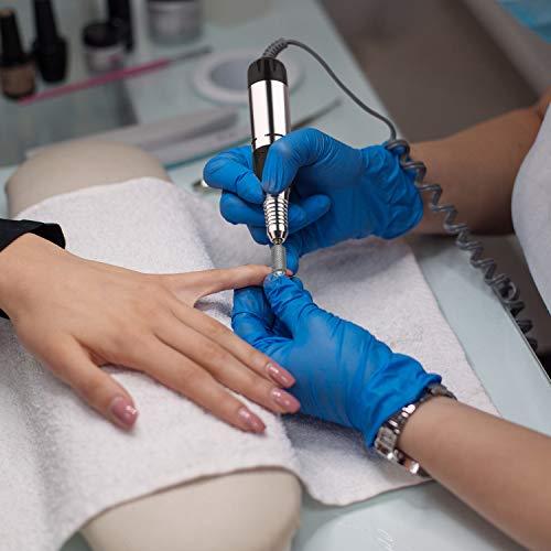 JSDA® Fresa Unghie Professionale 30000 Giri/Min per Manicure e Pedicure - Potente, Bassa Vibrazione, Basso Rumore, Design Innovativo, Ideale Per Rimuovere lo Smalto, il Gel e la Pelle Morta Senza Danneggiare le Unghie