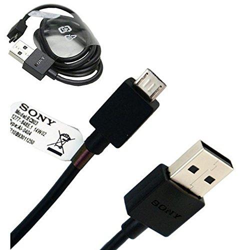 Sony EC803 Micro USB Daten Kabel kompatibel mit Sony Xperia Modellen mit Micro USB Anschluss