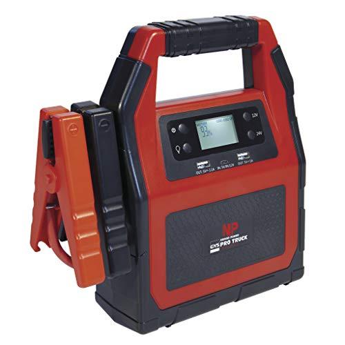 GYS NOMAD POWER PRO TRUCK – Booster de litio – 12/24 V – Incluye cargador y cable USB