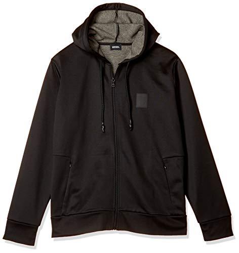 Diesel Sudadera con capucha para hombre. - negro - Small