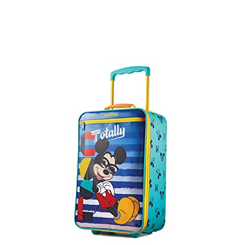 American Tourister Kids' Disney Softside Upright Luggage, Mickey Mouse 1, Carry-On 18-Inch