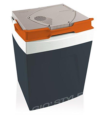 Gio'Style 6702821 elektrische koelbox, 12/130 V, grijs, 30 l