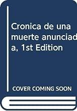 Cronica de una muerte anunciada, 1st Edition