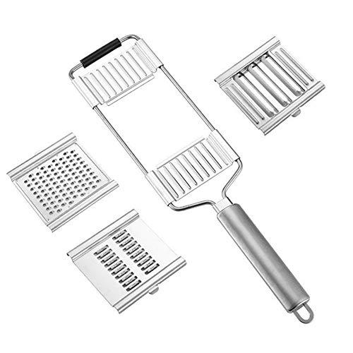 Herramienta De La Cocina del Queso Rallador De Acero Inoxidable para La Cocina Multiuso Vegetal Zester Multifuncional Máquina De Cortar