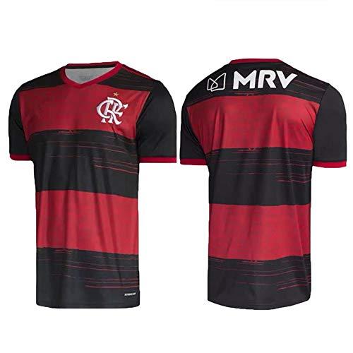 XQXC 20-21 Football Shirts Herren, Football Club Kurzarm-Trikotset für Erwachsene und Kinder, Schweiß, atmungsaktiv (S, Child)
