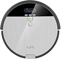 ILIFE Robot Vacuum. V8s, 2-in-1 Mopping,Big 750ml Dustbin,Enhanced Suction Inlet,ZigZag Cleaning Path,Ideal for Pet...
