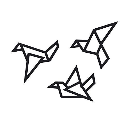 Origami Birds Modern Wall Art