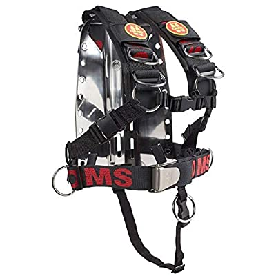 OMS SS Backplate w/Comfort Harness SS System II (LG)