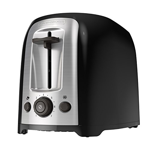 Our #3 Pick is the BLACK+DECKER 2-Slice Extra Wide Slot Toaster