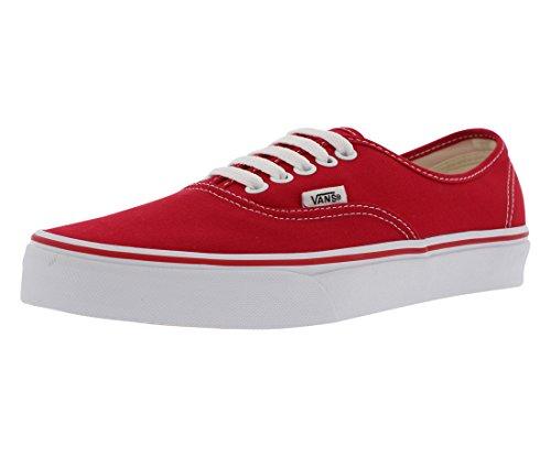 Vans Authentic RED Size 7.5 M US Women / 6 M US Men