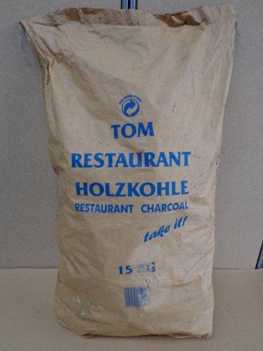 Heinrich Thoms Restaurant Grillkohle Holzkohle 15 Kg Sack