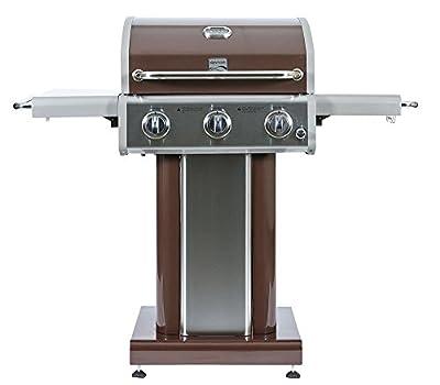 Kenmore 3 Burner Outdoor Patio Gas BBQ Propane Grill in, Mocha