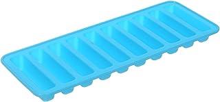 قالب ثلج سيليكون مستطيل على شكل اصبع - ازرق