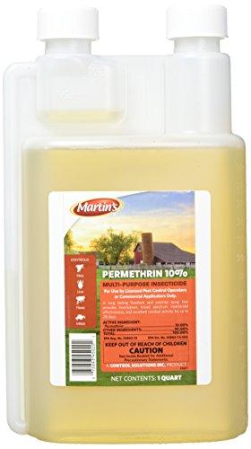 Martin's Permethrin 10% Multi-Purpose Insecticide, 32oz (1 Quart)