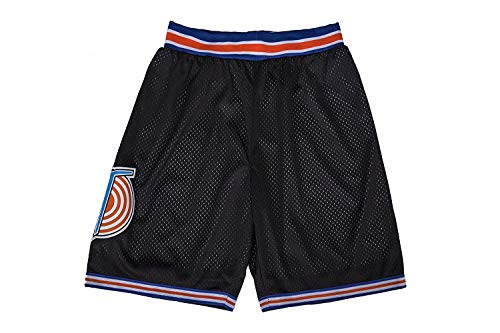 MEBRACS Men's Space Movie Shorts Basketball Shorts Sports Pants S-XXL Black (Medium)