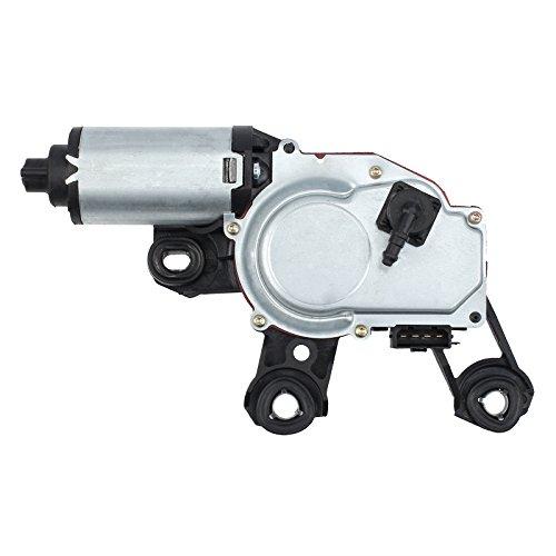 Justech Motor de limpiaparabrisas trasero compatible con A3 8P A4 A6 Q5 Q7 8E9955711 8E9955711A 8E9955711B 8E9955711C 8E9955711D 8E9955711E