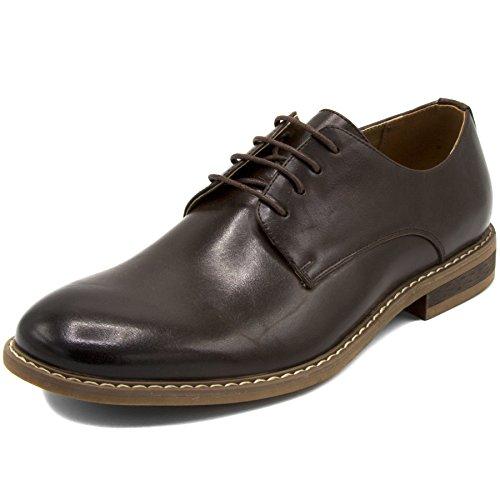 Nautica Zapatos de vestir para hombre con punta de ala, cordones Oxford...