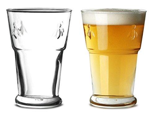 La Rochere Bee Lot de 2 verres à bière 350 ml