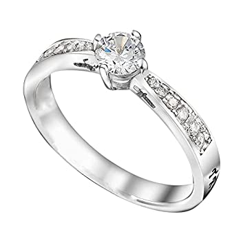 True Love Waits Message on a Stunning Majesty Ring High Polish Stainless Steel  6
