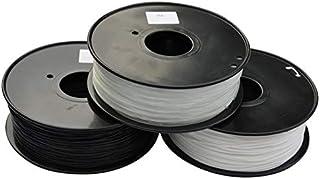 Lei Zhang 3D Printer Filament PA(Nylon) 1.75mm/3mm 1kg/2.2lb Plastic Consumables Material (Color : Nylon 3.0 Natural, Size...